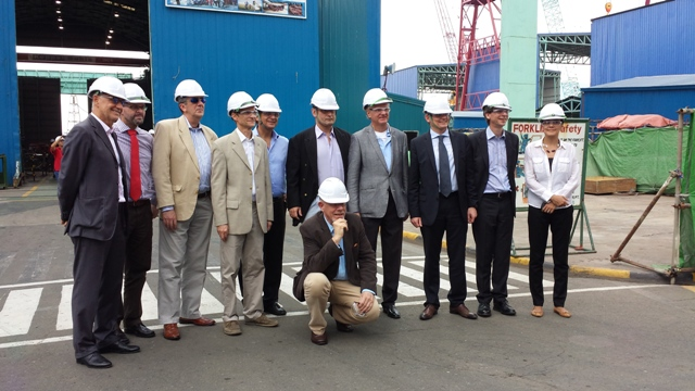 European Union Delegation to the Philippines at the Keppel Subic Shipyard