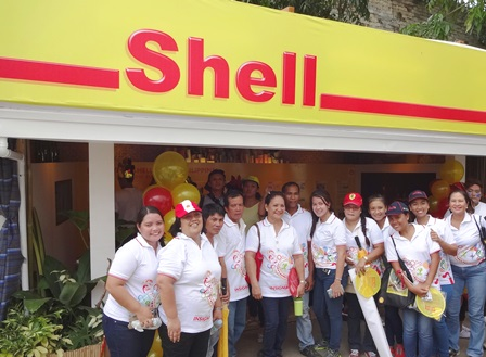 shell booth
