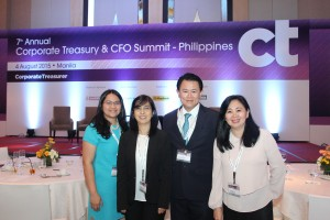 Jeng Pascual at annual treasury summit